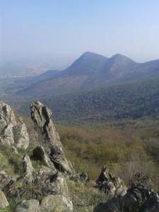 Vista dal monte Pietra Borga